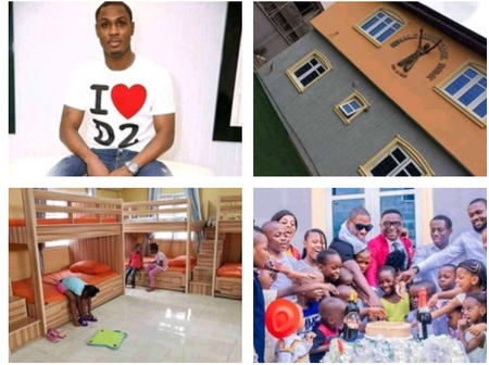 A Nigerian Professional Footballer, Ighalo Opens An Orphanage Home (Photos)