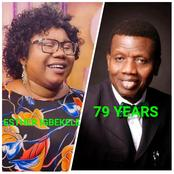 As Pastor Adeboye Celebrates His 79th Years Today, Check Out Esther Igbekele's Message To Him.