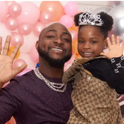 Singer, Davido laments as he shows pictures of what his daughter, Imade & her gang did