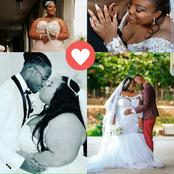 (33+Photo)Who Said Plus Sizes Can't Find Love? Be Confident Your Love Will Wed You Like These Ladies