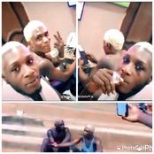 Moments After Flaunting His Lifestyle: See What This Boy & His Friend Were Caught Doing In Anambra