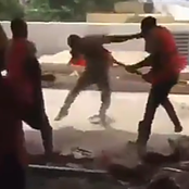 Video: Construction Worker Assault Colleagues With A Spade