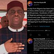 FFK Has Sparked Reactions After He Revealed What Was Found Inside A Ship That Departed From Nigeria