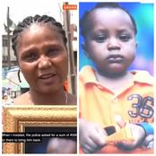 Lady Accuses Lagos Police Of Demanding N200,000 From Her After Giving Her Missing Child To Another Lady