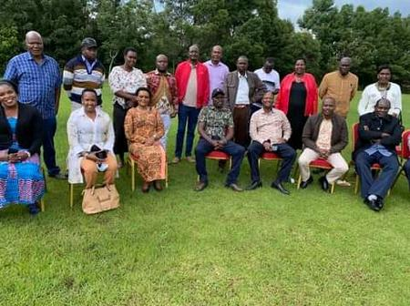 Reactions As Vocal Narok MP Hosts County MCAs Over Discussion Of UDA Party Recruitment Drive