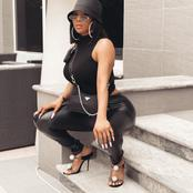 Fans React As Toke Makinwa Shares A Lovely Pictures To Celebrate The New Month