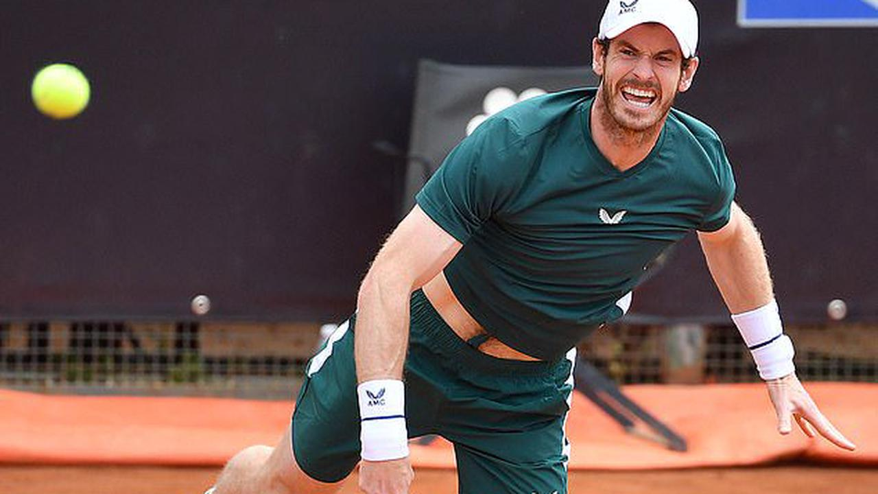 Andy Murray feeling positive after two doubles matches at the Italian Open andfour practises with top-20 players includingworld No 1 Novak Djokovic