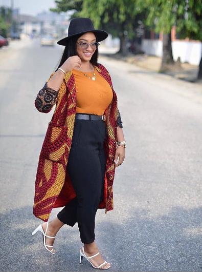 Ankara kimono