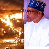 Today's Headlines: Fire Breaks Out At Aso Rock, 20 People Killed and Over 30 Injured In Somalia's Car Bomb Blast