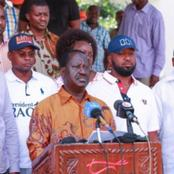 Rowdy Youths Heckle Raila Odinga in Mombasa, Forcing Hassan Joho to Intervene