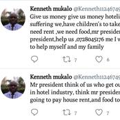 Screenshots Of A Lamenting Hotelier Seeking For Mr President To Assist
