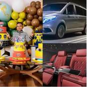 Money Is Good, See The Cost Of The Mercedes Benz Viano Tonto Dikeh Bought For Her Son