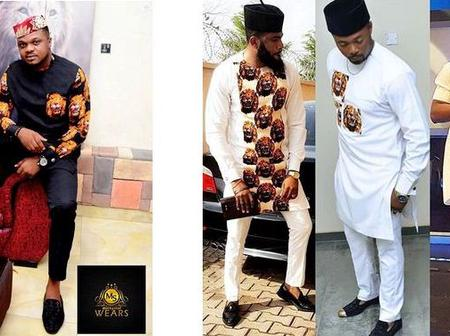 Check Out Stylish Isiagu Outfits For The Modern African Men (PHOTOS)