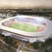 Le nouveau stade de Yamoussoukro sort de terre !
