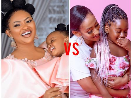 BEAUTY CONTEST:Between Hajia4real Daughter And Mcbrown's Daughter Who Looks More Cute [Photos]