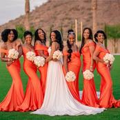 Are You About To Get Married? Checkout These Aso-Ebi Styles For Your Bridesmaids