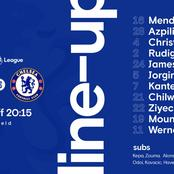 Confirmed Chelsea starting XI against Liverpool FC