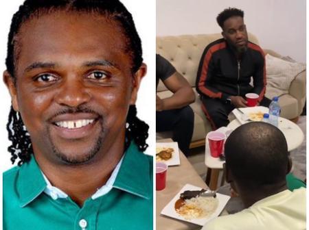 Reactions As Kanu Nwankwo, Okocha, Daniel Amokachi and Others Are Seen Having Fun Together