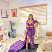 Celebrity Welder: See The Expensive Dress A Female Welder Bought To Attend A Wedding