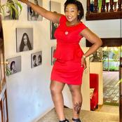 Si Umerudia Sana! Betty Kyallo Caught Wearing This Cheap Pair Of Shoes Five Times.