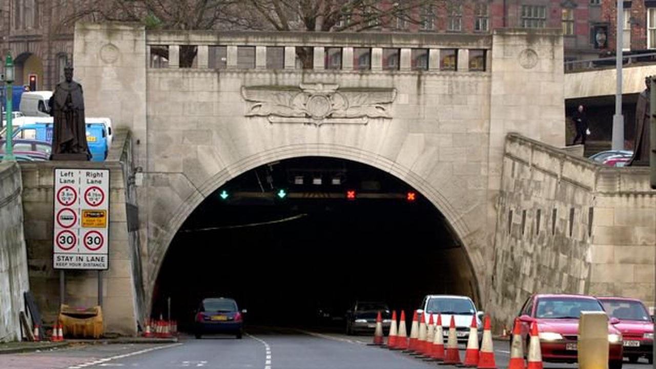 Concern for safety of man as police forced to close tunnel
