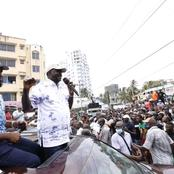 'Urudi Ukiwa Rais' Coast Residents Tell Raila As He leaves The Coast
