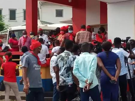 Hearts of Oak Supporters Storm Club Secretariat Insisting They Do Not Want An Expatriate Coach
