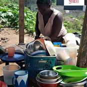 Angré : Akissi Viviane, la mère qui vit avec ses enfants dans la maison en ruine lance un SOS
