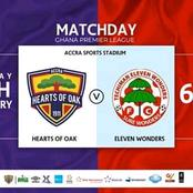 Hearts of Oak out to maintain unbeaten home record as they host XI Wonders on Sunday