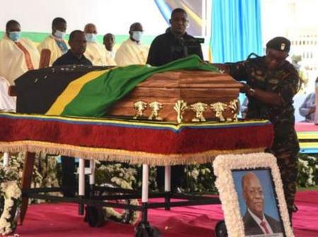 What Benjamin Mkapa And Jakaya Mrisho Kikwete Said About Magufuli During His Burial Ceremony