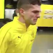 How Christian Pulisic received standing ovation, got teary during last game for Dortmund (Pics)