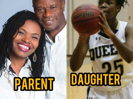 Mutiu Adepoju Is 50 Years Old Today, See Photos Of His Wife And His Daughter Who Is A Basketballer.