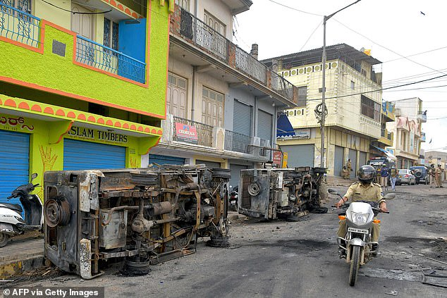 Three killed in India after