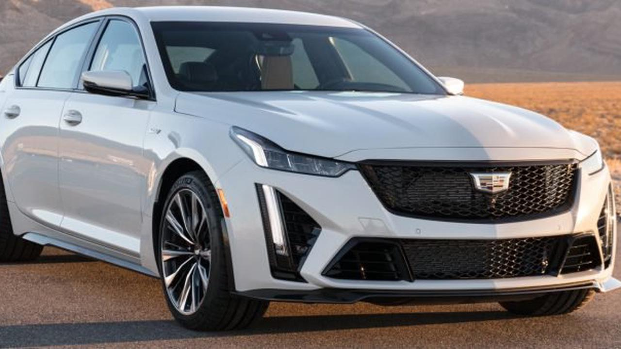 Here Are The 2022 Cadillac CT5-V Blackwing Wheel Choices