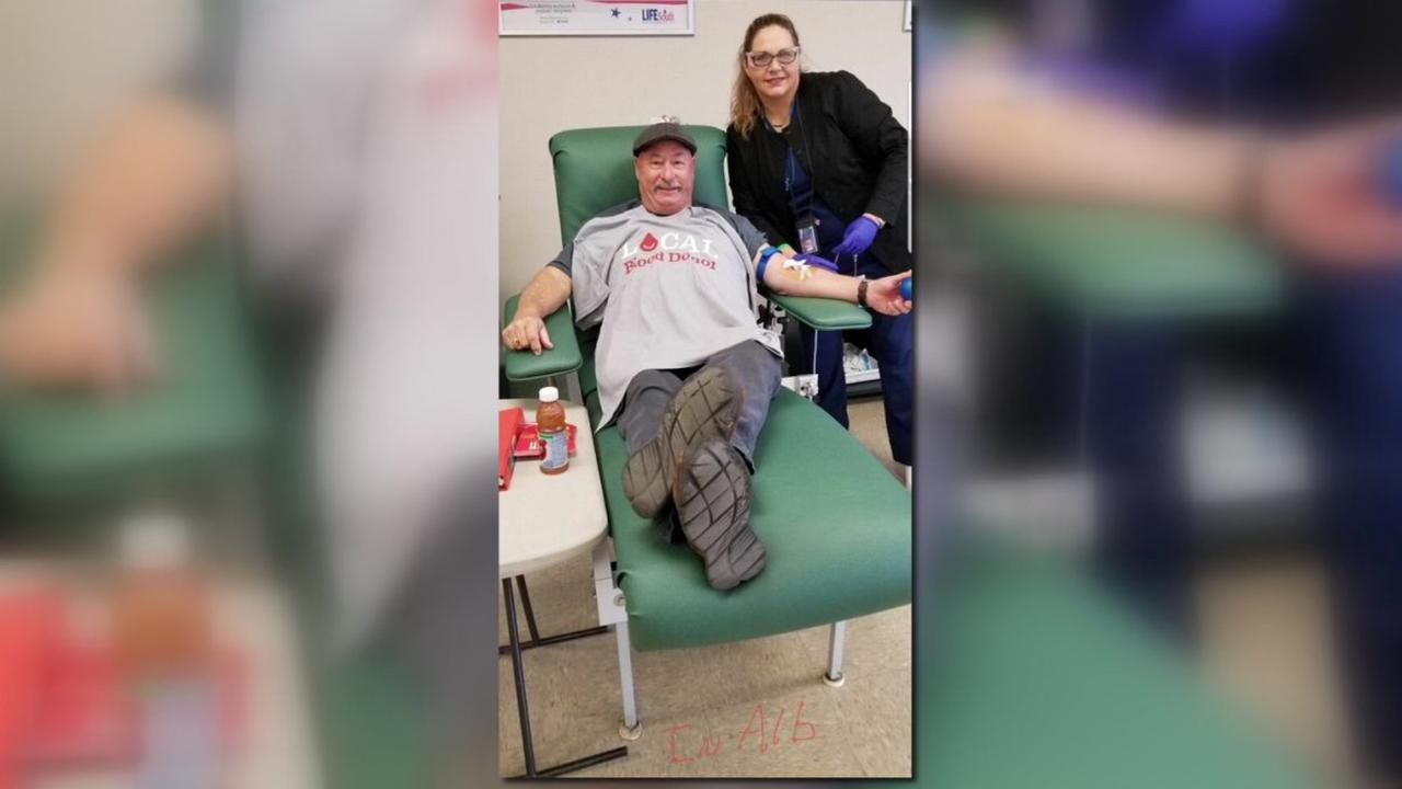 Blood Donor 'Steve-O Negative' Makes Goal of Donating Blood in all 50 States