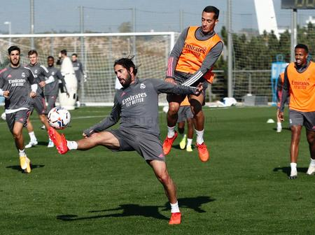 Photos: Real Madrid Stars in training ahead of tie against Huesca on Saturday