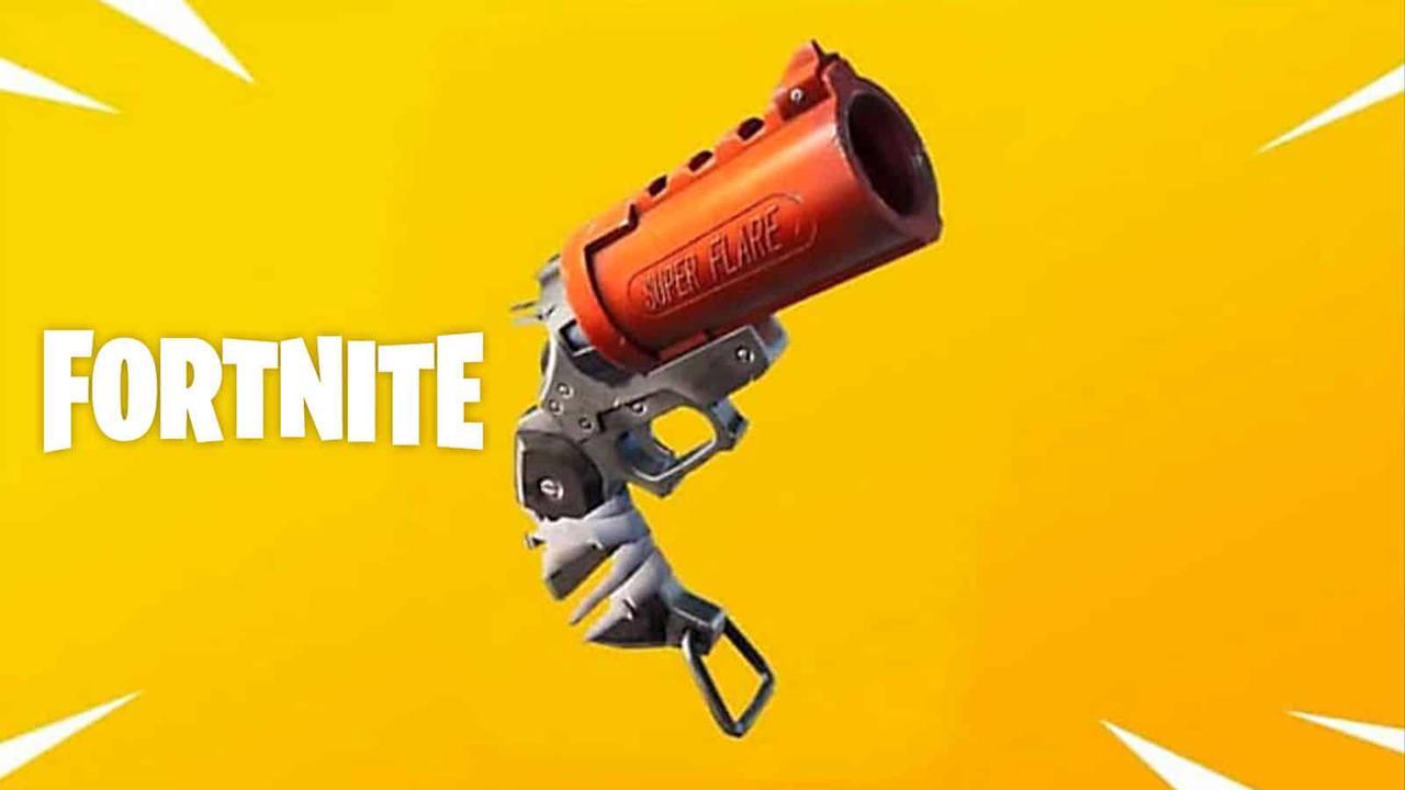 Où trouver le pistolet flambeur de Fortnite dans la Saison 6