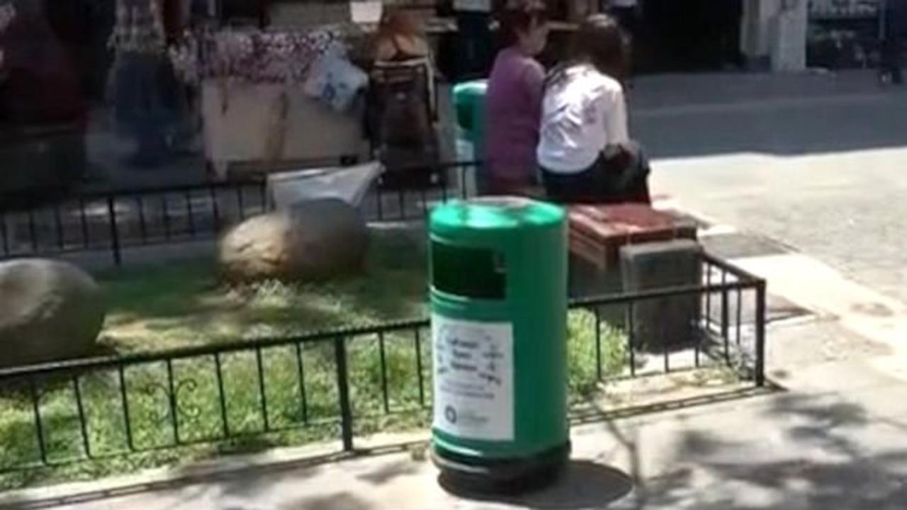 Prostitute suffers miscarriage in street 'before dumping foetus in bin'
