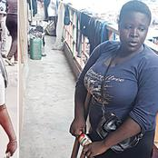 After She Relocated to Lagos, Her Story Changed: This is the Current Condition of Lagos Amputee