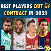 Best football players who will be Out of Contract/Free Agents in 2021