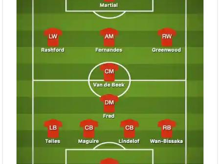 4-2-3-1: Manchester United Will Slay Southampton With This Brilliant Lineup