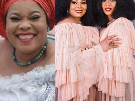 Actress Chinyere Wilfred Stuns In Photos With Her Twin Sister As They Celebrate Their Birthday