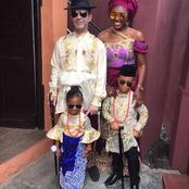 Check Out Photos of Nollywood Actress, Ufuoma McDermott who got married to a white man and her family