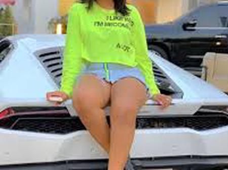 Regina Daniels' Love For Luxury Cars