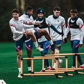 Chelsea's star player  returns to training