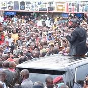 Meru Brought to a Standstill as DP Ruto Storms The Streets of Meru County