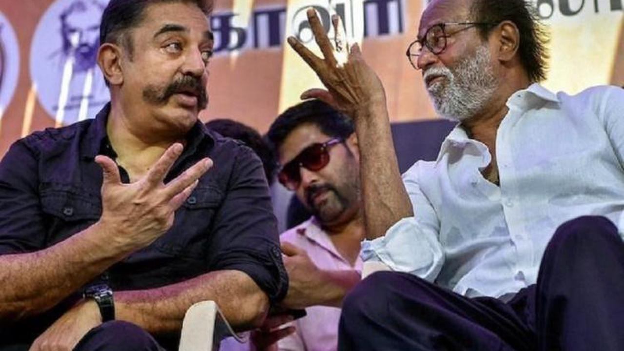 Kamal says he's disappointed over Rajini's political exit but his health is important