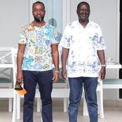 Baba Kama Baba in a Jeans! Who is Dressing Raila Odinga at The Coast?