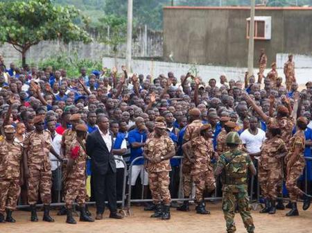 Election 2020: 122 inmates of Akuse prison exercise their franchise