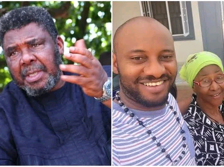 Meet the Nollywood Legend Pete Edochie, his Wife and 6 Children(Photos)
